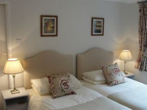 Self catering holiday let for two person, the twin room